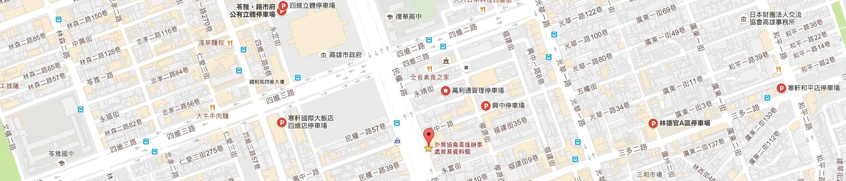 本處周邊停車場位置-googlemap